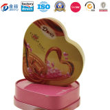 Heart Shaped Decorate Wedding Tin Boxes for Packing Jy-Wd-2015120703