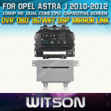 Witson Car DVD Player with GPS for Opel Astra J (W2-D8974L) with Capacitive Screen Bluntooth 3G WiFi CD Copy