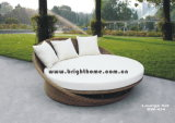PE Rattan Weaving Day Bed/Wicker Sun Lounger for Outdoor (BW-434)