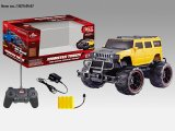 Four Function R/C Car Toys with Big Wheel for Children