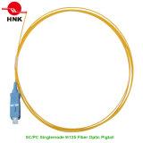 PVC LSZH Sc PC Singlemode 9/125 Fiber Optic Pigtail