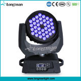 Indoor 36PCS10W Rgbwuv Mini Moving Head Disco Lighting for Stage
