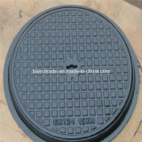 En124 Round Casting Iron Manhole Cover and Frame for Export