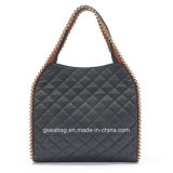 Big Buddha Georgie Quilted Bead Tote Handbag
