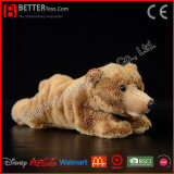 Realistic Stuffed Brown Bear Toy Lifelike Soft Bear Toy Plush Toy Bear
