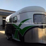 OEM/ODM Accepted Angel Load Two Horse Trailers/Horse Floats