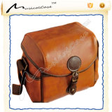 Camera Bag Real Leather Custom with Heavy Duty Straps
