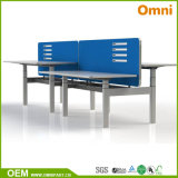 2016 New Hot Sell Height Adjustable Table with Workstaton (OM-AD-051)