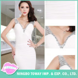 Beading Fashion Evening Wear Wedding Party Women Ladies Dress