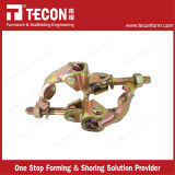 Tecon High Quality British Style Construction Scaffold Drop Forged Double Coupler