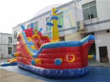 Pirate Ship Inflatable Water Slide, Corsair Slide Rental