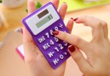 Scientific Pocket Smart calculator Foldable Silicone Portable Solar Calculator