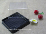 Black Square Melaleuca Cake Blister Box