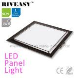 Electroplated Aluminum 9W Black LED Panel Light