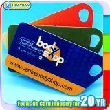 Custom logo RFID NTAG213 NFC loyalty PVC Key tag