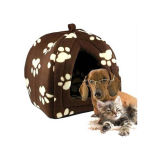 Folding Travel Cute Leopard Pet Hut