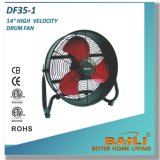 "14"" High Velocity Drum Fan with CE, ETL, CB Approvals"