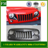 Eagle Eye Matte Black Front Grille for Jeep Wrangler Jku