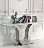 Model Metal with Marble Special Design Hallway Table (X8817#)