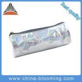 Factory Supply Laser Silver PVC Fashion Pen Case Pencil Bag