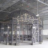 Steel Crafts House Decorative Wrought Iron for Gates Art Metal