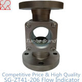 Pipe Fitting Double Window Stainless Steel Flanged Sight Glass for Water