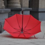 Wholesale Advertising Fashion Wooden Handle Umbrella with Case
