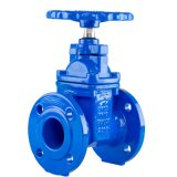 Blue Valves with Panting Surface Treatment