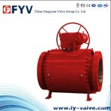 API6d Cast Steel Trunnion Mounted Ball Valve