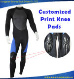 Men 3mm Smooth Skin Neoprene Nylon Fabric Diving Surfing Suit