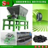 Waste Tire Recycling Using Two Shaft Shredding machinery
