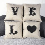 New Home Linen Cotton Waist Throw Pillowcase Sofa Cushion Pillow