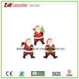 High Quality Resin 3D Fridge Magnet with Santa Figurine for Souvenir Collection