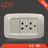South American Standard Wall Socket Electrical Receptacle Socket