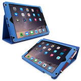 Wholesales Flip Cover Leather Cover Silicone Case for Tablet iPad Air 2