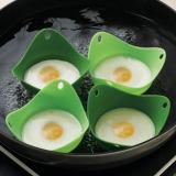 Silicone Egg Poacher Cook Poach Pods Poach Pod