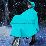 Thick and Portable Rain Wear for Bike in Blue