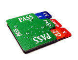 Durable Plastic Insert Card for Bridge Bidding Devices
