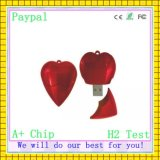 Factory Price Heart Shaped USB Drive (GC-H012)