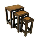 Antique Chinese Wooden Flower Stool Lws053