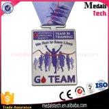 Cheap Custom Soft Enamel Metal Running Award Medals