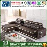 L-Shaped Recliner Leather Living Room Sofa (TG-8098)