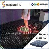50X50cm Interactive LED Digital Dance Floor P62.5 Dance Floor Hire