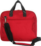 Lady Laptop Computer Business Nylon Red Carry 14′′ Laptop Bag