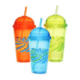 Double Walls Plastic Water Tumblers Cup