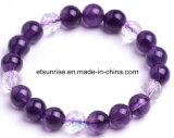 Fashion Semi Precious Stone Crystal Beaded Jewellery Bracelet (ESB01293)