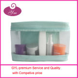 Summer Fresh Mesh and Blue Cosmetic Bag