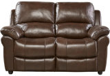 Living Room Furniture with Genuine Leather Sofa