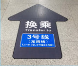 Best Quality Waterproof Durable Matt Film Laminated Floor Sticker