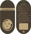 Customized Design Irregular PVC Card